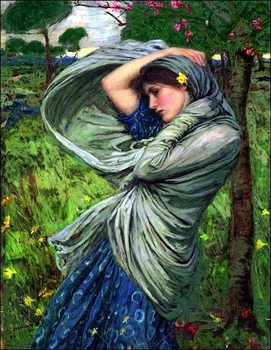 Waterhouse - Boreas Art Print
