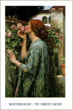 Waterhouse - My Sweet Rose Art Print