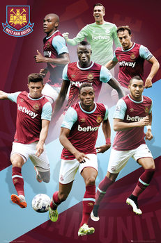West Ham United FC - Players 15/16 Poster