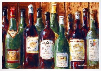 Wine Gathering Art Print