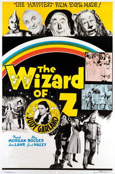 WIZARD OF OZ - rainbow Poster