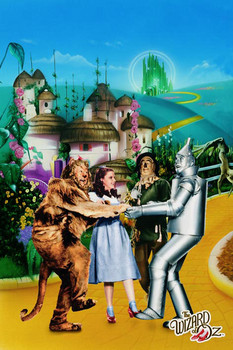 WIZARD OF OZ - yellow brick road Poster