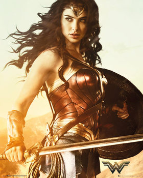 Wonder Woman - Sword Poster