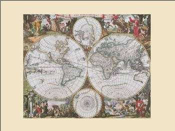 World Map - Historical Art Print