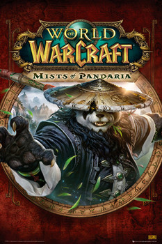 World of Warcraft - mists of pandaria cover  Poster
