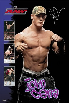 WWE - john cena Poster
