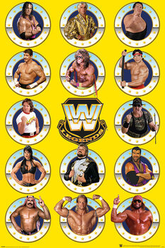 WWE - Legends Chrome Poster