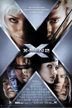 Poster X-MEN 2 - international campaign