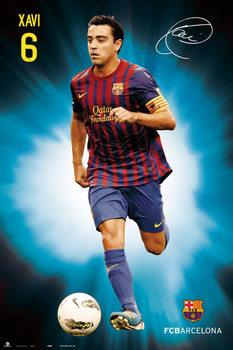 Xavi - fc Barcelona Poster