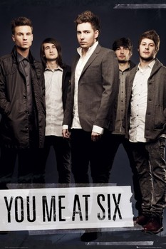 You me at six - tape Poster