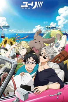 Yuri On Ice - Car Poster