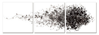 Modern Design - Branches Mounted Art Print
