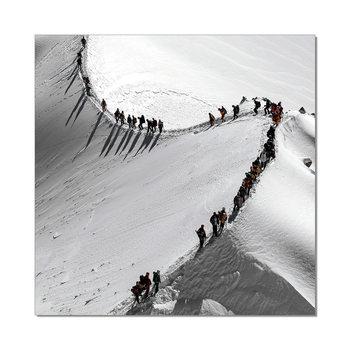 Mountains - Mountain Hike Mounted Art Print