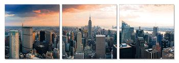 New York - Manhattan Mounted Art Print