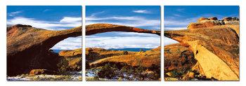 Rocky arch Mounted Art Print
