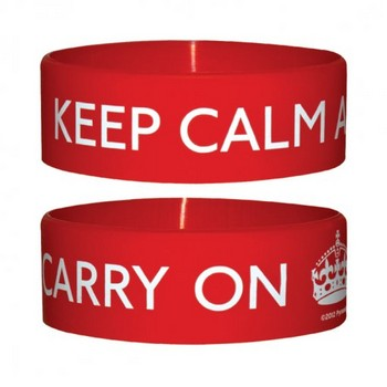 Pulseira KEEP CALM AND CARRY