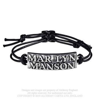 Pulseira Marilyn Manson - Logo