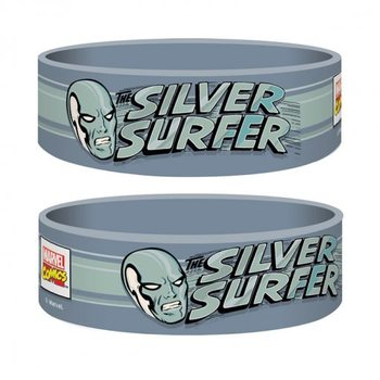 Pulseira Marvel Retro - Silver Surfer
