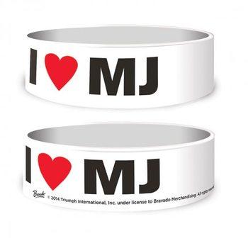 Pulseira Michael Jackson - I Love MJ
