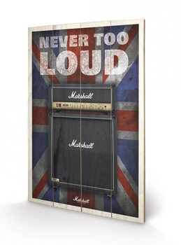 MARSHALL - never too loud Puukyltti