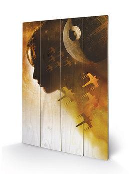 Rogue One: Star Wars Story - Jyn Silhouette Puukyltti
