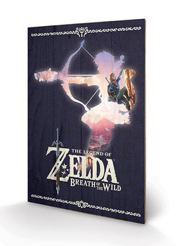 The Legend of Zelda: Breath Of The Wild - Silhouette Puukyltti