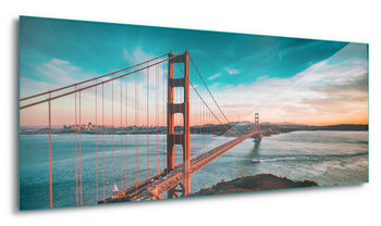 Quadro em vidro  Golden Gate Bridge