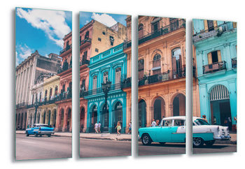 Quadro em vidro Havanna Retro
