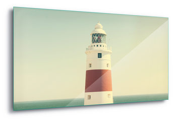 Quadro em vidro  Lighthouse By The Sea