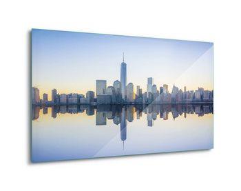 Quadro em vidro  Manhattan Mirror