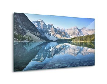 Quadro em vidro  Mountain Mirror
