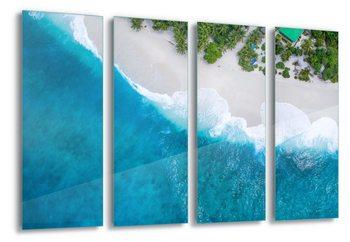 Quadro em vidro Paradise From Above