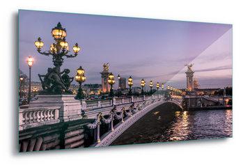 Quadro em vidro  Paris Evening