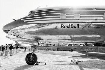 Quadro em vidro Plane - Red Bull