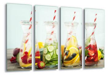 Quadro em vidro  Refreshing