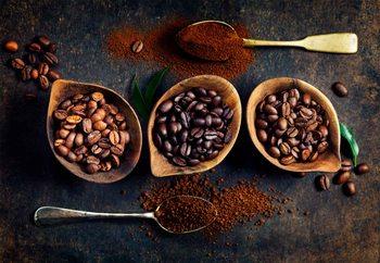 Quadro em vidro  Rich Coffee
