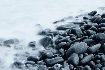 Quadro em vidro Rocky Shore