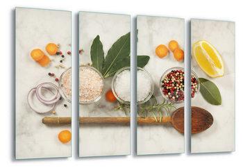 Quadro em vidro  Seasoning