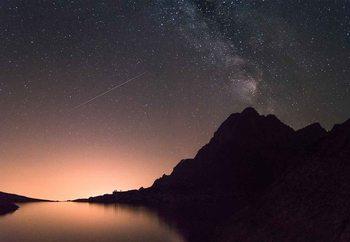 Quadro em vidro Shooting Stars