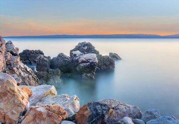 Quadro em vidro  Soft Sea