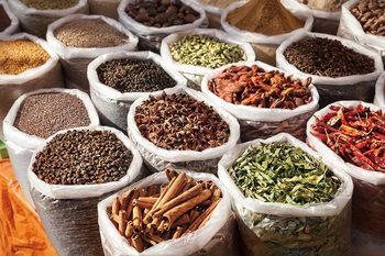 Quadro em vidro Spices of Life