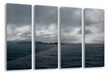 Quadro em vidro Stormy Seas