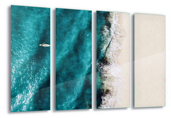 Quadro em vidro Surf Colours