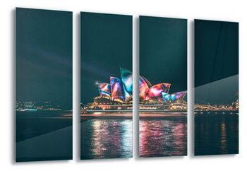 Quadro em vidro Sydney Lights