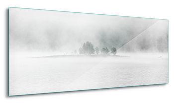 Quadro em vidro  White Lake