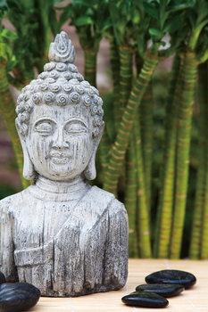 Quadro em vidro  Zen - Buddha