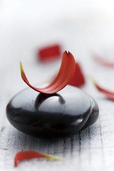 Quadro em vidro Zen - Red 2