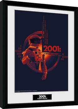 2001 A Space Odyssey - Graphic Poster Emoldurado