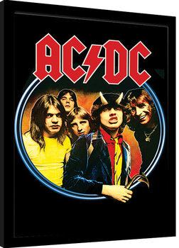 AC/DC - Group Poster Emoldurado