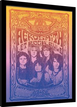 Aerosmith - Let Rock Rule Poster Emoldurado